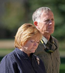 Rodzice Matthew - Judy i Dennis Shepard