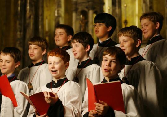 Boston Boy Choir Perform Their Holiday Concert The