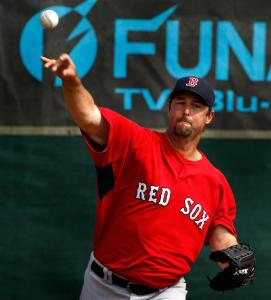 Manager Terry Francona doesn't take the fine work of Tim Wakefield (above) for granted.