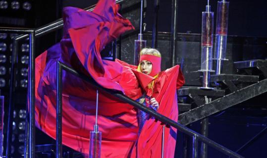 Lady Gaga at Boston Garden 3/8/11