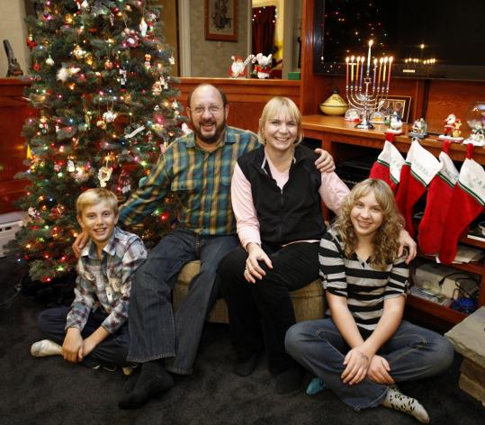 More Families Celebrate Christmas And Hanukkah The