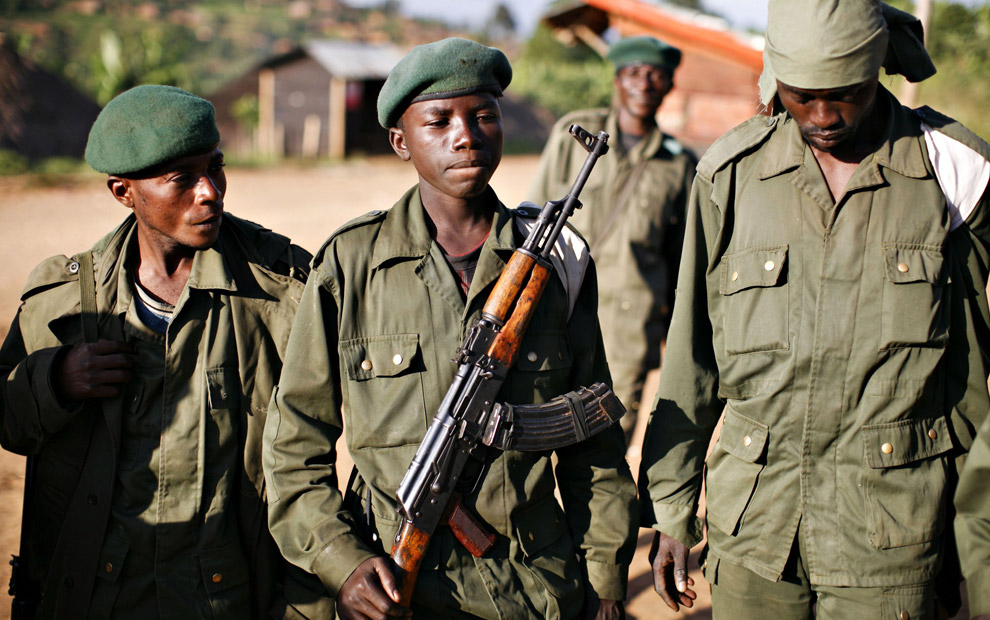 child soldiers protect african diamonds