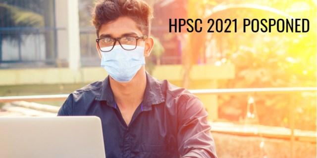 COVID-19 के कारण HPSC HCS परीक्षा 2021 स्थगित;  यहां विवरण देखें