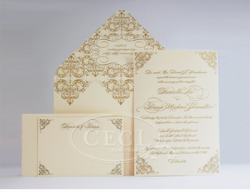 Luxury Wedding Invitations By Ceci New York Our Muse Elegant Masquerade Be