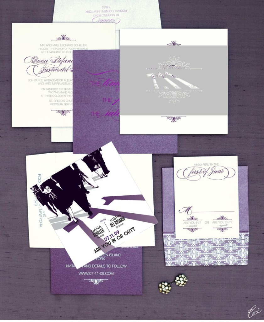 V52 Our Muse Hip New York Wedding Dana Justin Part 1 Ceci Luxury Invitations By