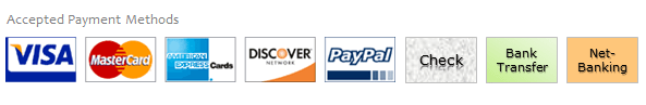 Accepted Payment Methods - VBA Classes