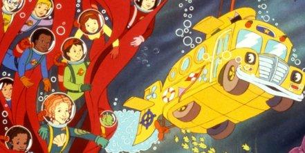 bus magique - Les meilleurs dessins animés des années 80 et 90
