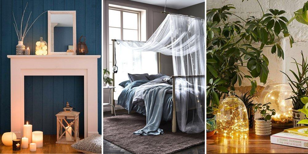 ca ressemble a quoi au juste une decoration de chambre cocooning et comment je transforme la mienne pour qu elle soit cosy une guirlande lumineuse par