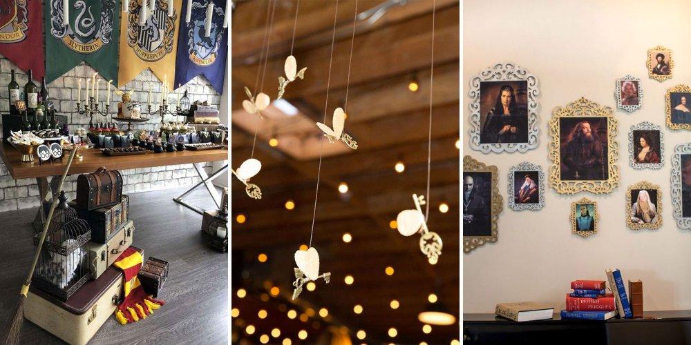 transformez votre appartement en salle sur demande le temps d une soiree avec ces idees deco inspirees des decors de l univers harry potter