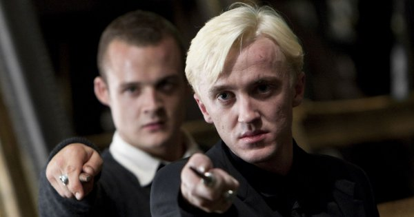 Draco Malfoy And His Friends