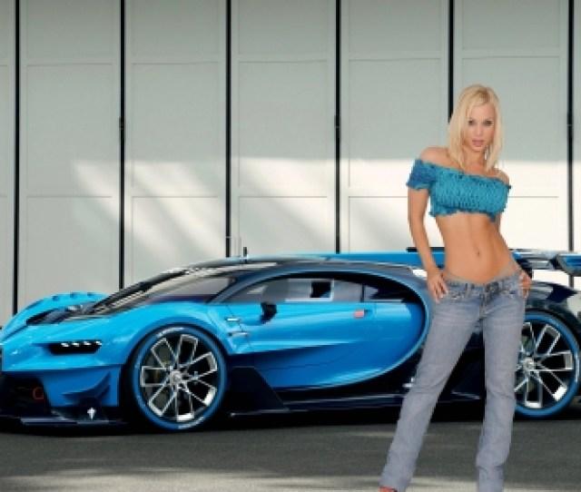 Jenny Poussin And A Bugatti