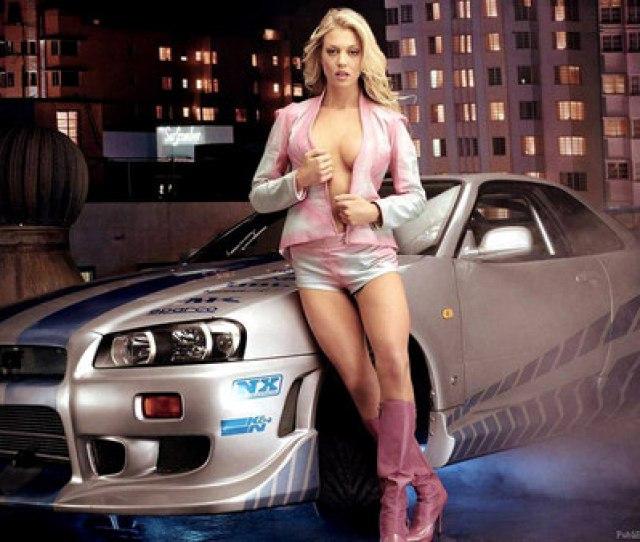 Sexy Babe Car