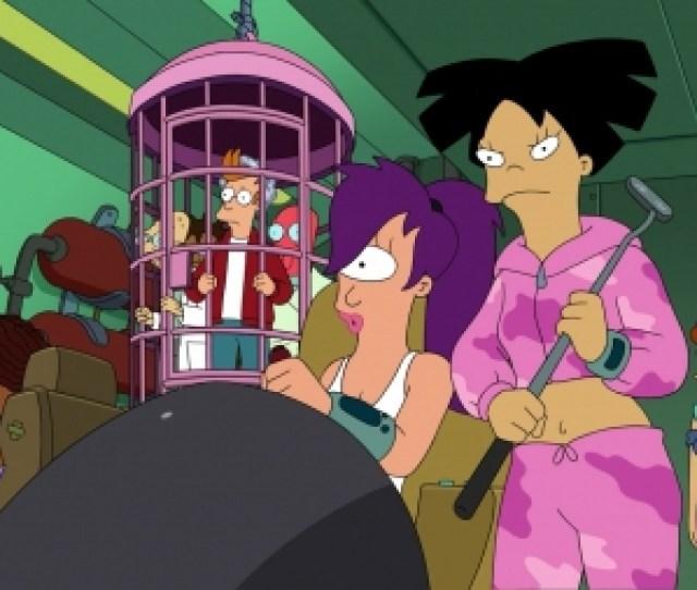 Futurama Futurama Fry Leela Amy