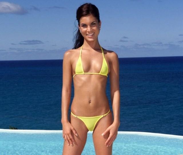 Nella Yellow Bikini