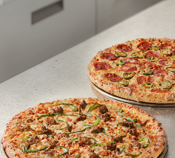 50% Off All Pizzas at Menu Price