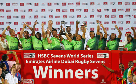 Dubai Rugby Sevens: South Africa outgun Australia to ...