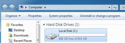 how to upgrade from osx on new hard drive