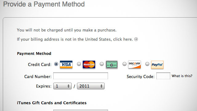 Make Apple Id Without Card
