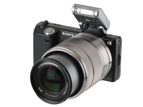 Hands-On: Sony Alpha NEX-5  Interchangeable-Lens Camera