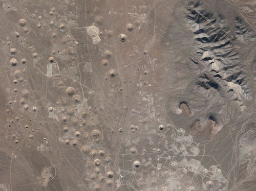 This Is What A Nuclear Test Site Looks Like From Above