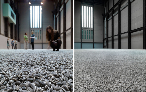 The Tate Modern's New Art Installation: 100 Million Sunflower Seeds