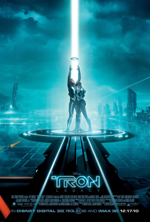 The New Tron: Legacy Poster Looks Awfully Familiar...