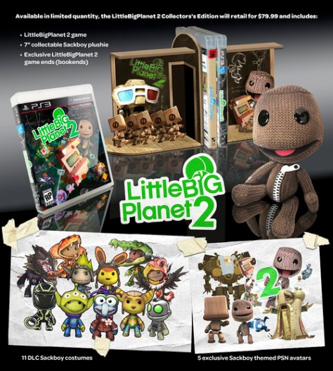 LittleBigPlanet 2 Takes November With Adorable Collectors Edition