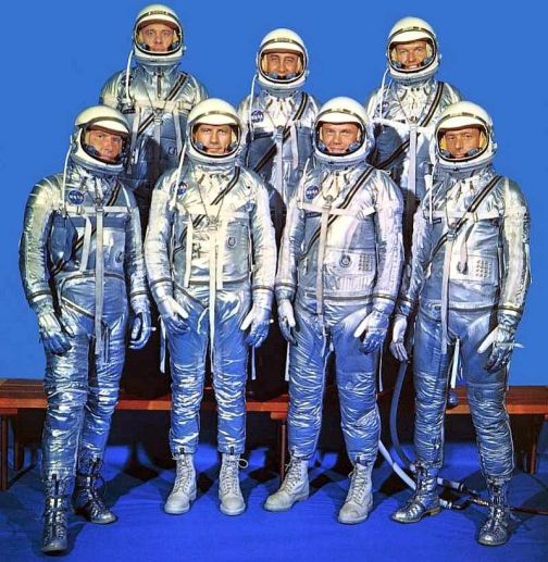 The Magnificent Mercury Seven NASAs First Astronauts 50