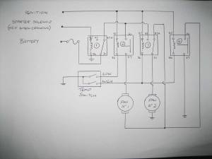 Half speed thermo fan wiring schematic  Page 2  Electrical  GMHTorana