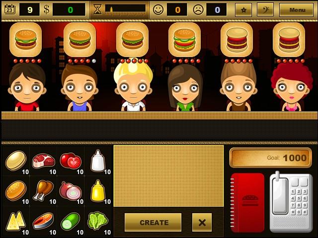 Burger Restaurant Games Y8