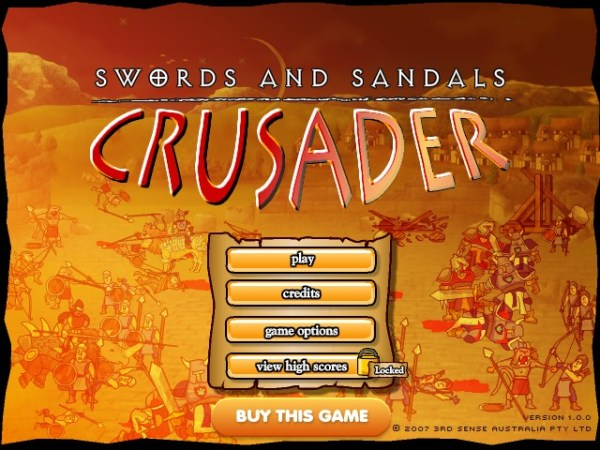 Swords and Sandals Crusader Hacked Cheats Hacked Free