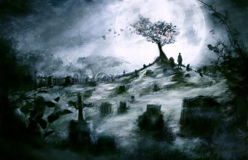 Image result for Graveyard art
