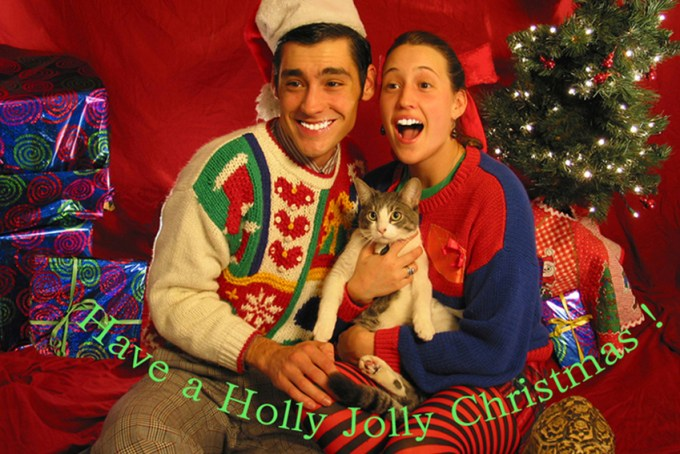 funny christmas pictures card ideas couples