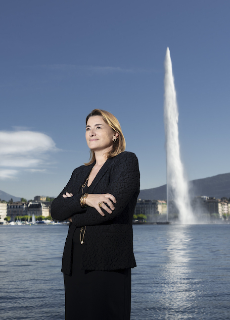 Fabienne Lupo is president and general director of the Fondation de la Haute Horlogerie. Image courtesy of FHH © Fred Merz   Lundi13