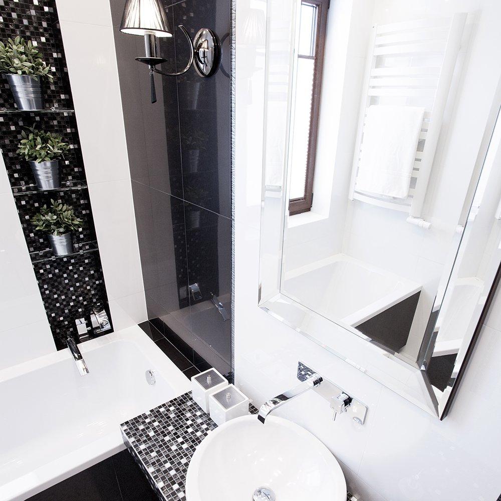 place dans la salle de bain