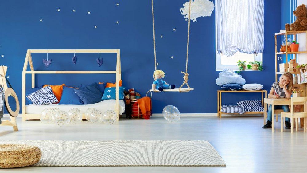 la chambre de son enfant