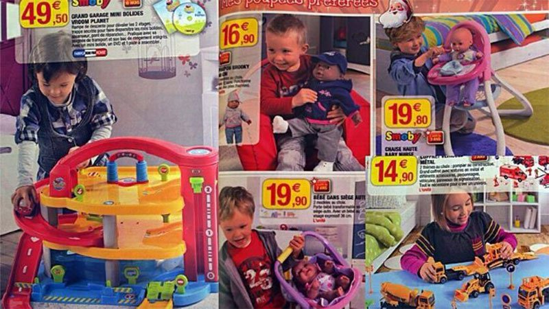 super u publie un catalogue de jouets