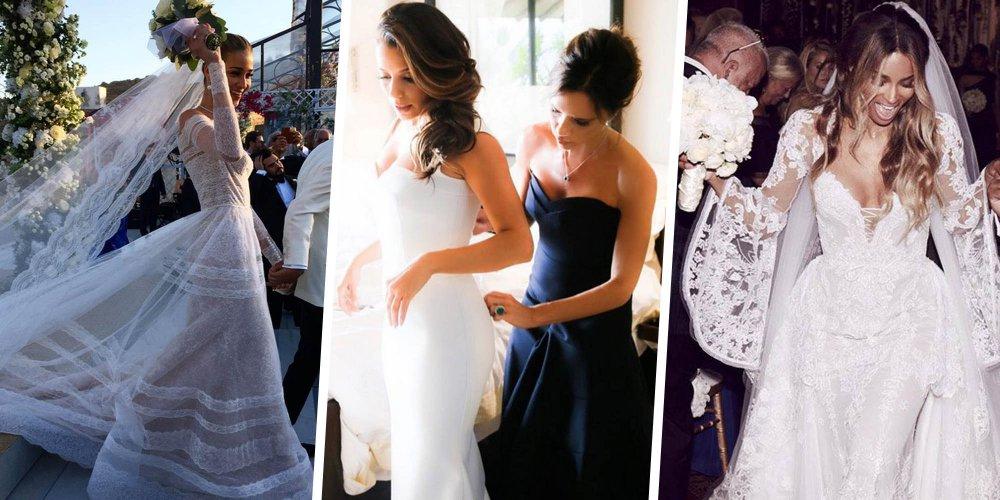 souvent synonymes de receptions grandioses d invites prestigieux et surtout de robes de mariees somptueuses retour sur les plus belles ceremonies de