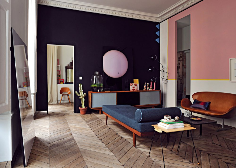 un appartement parisien au decor annees