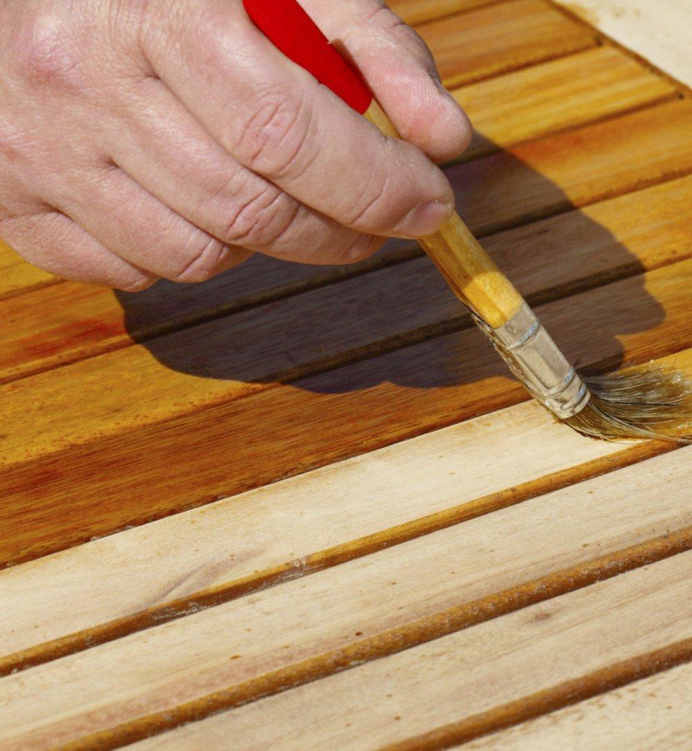 Tout Savoir Pour La Renovation D Une Table En Teck Marie Claire
