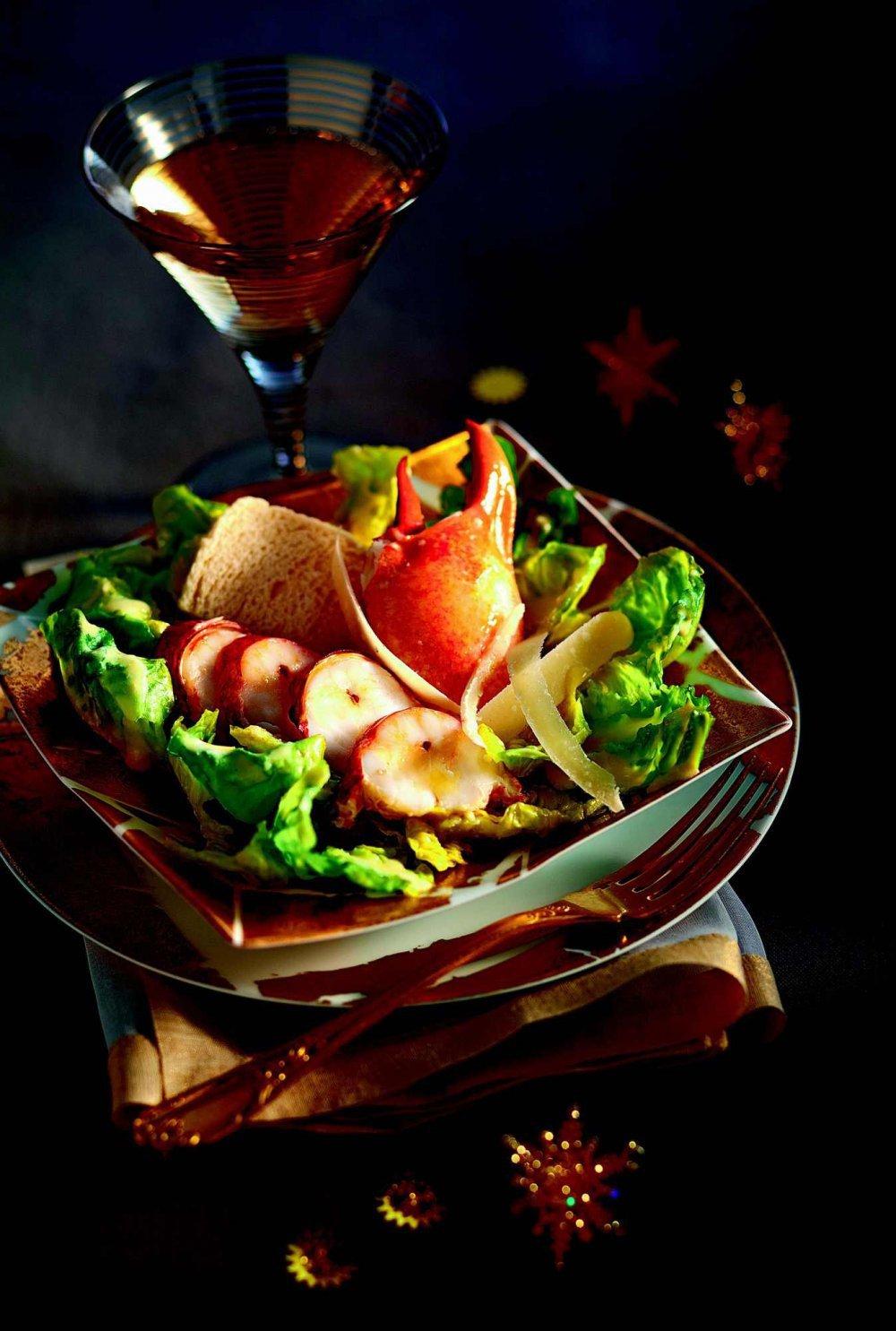 Recette Salade Csar Au Homard Marie Claire