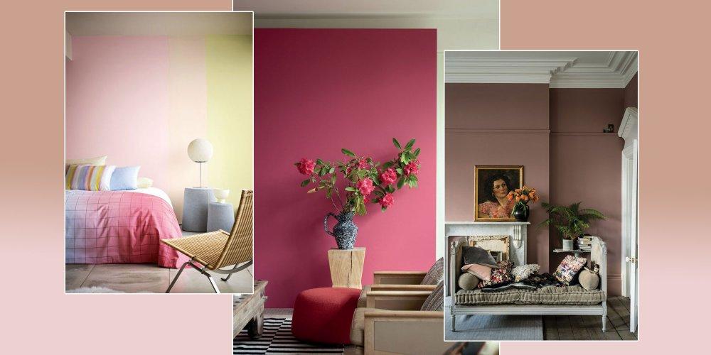 10 nuances de rose pour un interieur