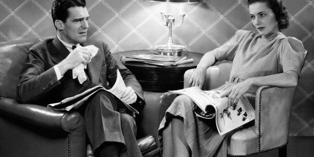 Résultats de recherche d'images pour «dispute couple annees 50»