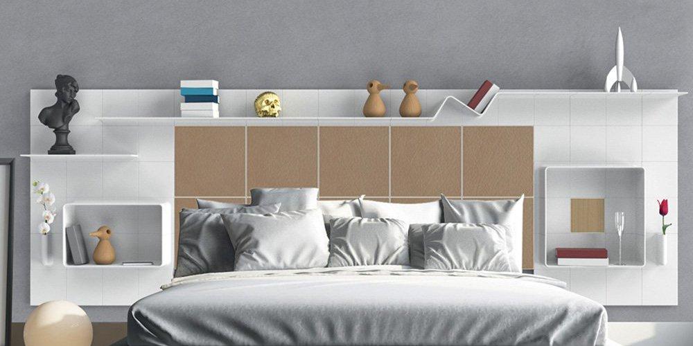 si la tete de lit permet d habiller sa chambre a coucher avec elegance elle peut aussi vous faire gagner de la place voici 10 modeles de tetes de lit
