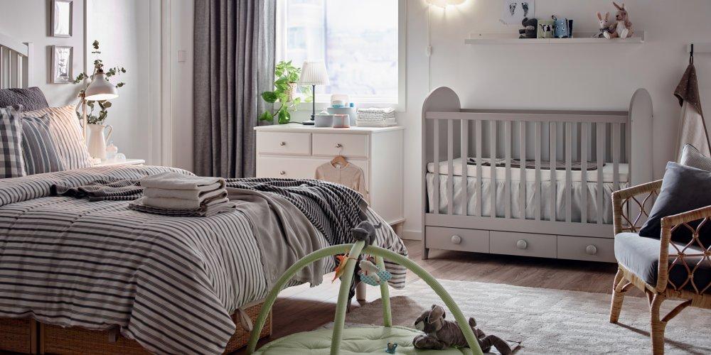une chambre parentale