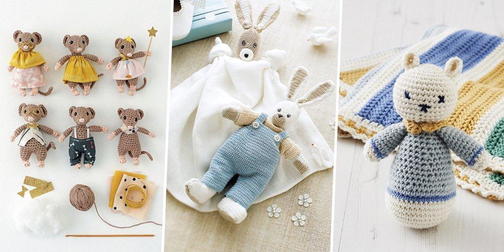 Des Patrons Pour Crocheter Un Doudou Marie Claire