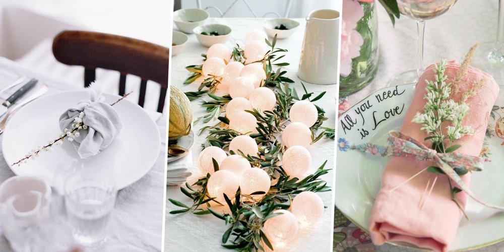 mariage 15 idees pour faire soi meme sa deco de table
