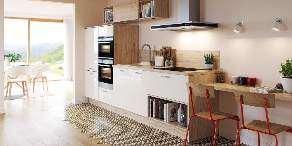 les avantages d une cuisine blanche