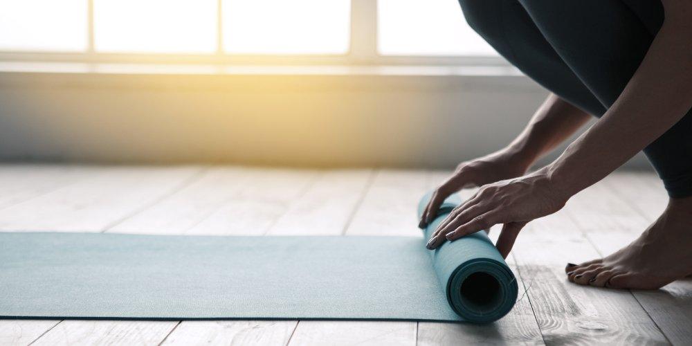 recette nettoyant pour tapis de yoga
