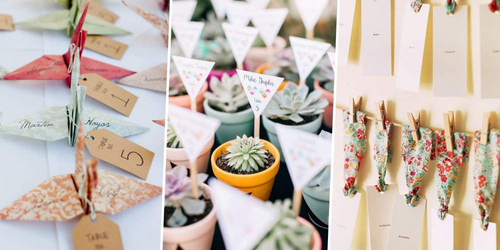 pour un mariage personnalise nous vous proposons 10 idees de marque places a faire soi meme qui epateront vos convives